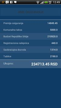 Registracija Vozila Kalkulator apk screenshot