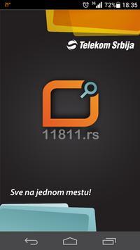 11811.rs Telefonski imenik poster