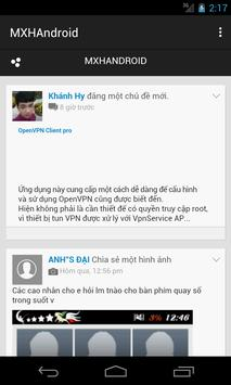 MXH Android Việt Nam (Limited) apk screenshot