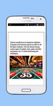 No Deposit Casino - Reviews apk screenshot