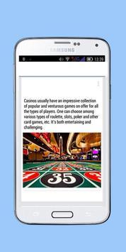 Casino Review apk screenshot
