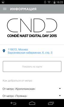 Condé Nast Digital Day apk screenshot