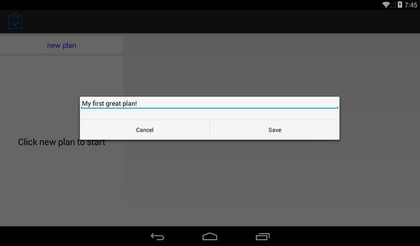 Business plan apk screenshot