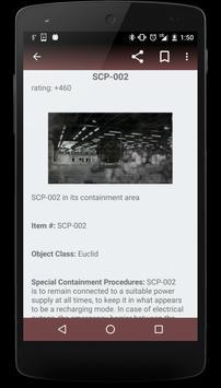 SCP Foundation EN On/Offline apk screenshot