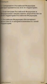 Конституция РФ poster