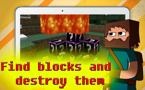 Amazing Lucky Blocks for MC PE poster