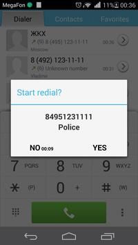 Auto Redial apk screenshot