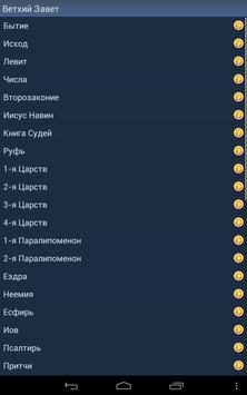 Russian Holy Bible apk screenshot