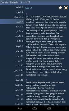 Al-Quran - Quran in Malay apk screenshot