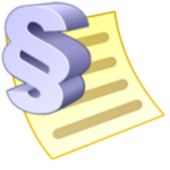 Contract of debt icon