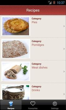 Ossetian cuisine poster