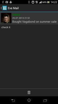 Eve Online mail apk screenshot