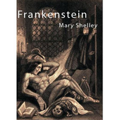Frankenstein. Mary Shelley icon