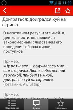 Большой словарь мата apk screenshot