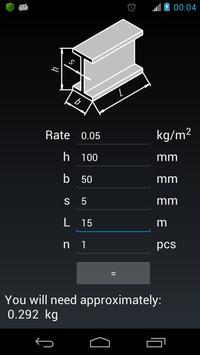 Paint Calculator apk screenshot
