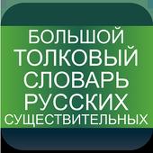 Explanatory - Russian nouns icon