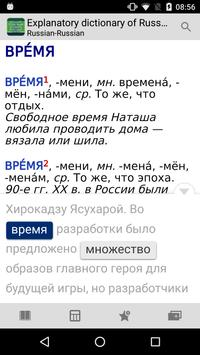 Explanatory - Russian nouns apk screenshot