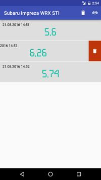 Drag stopwatch apk screenshot