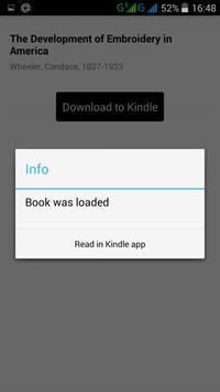 Free mobi format books apk screenshot