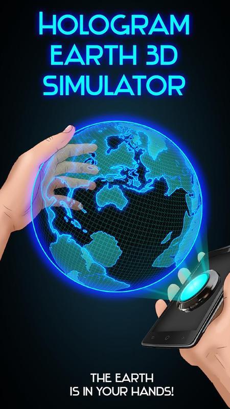 Hologram earth 3d simulator apk download free simulation for Simulatore 3d