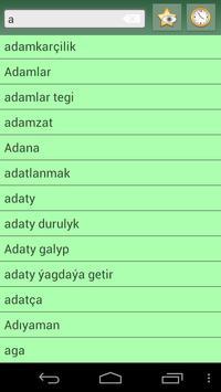 English Turkmen Dictionary apk screenshot