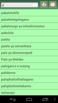 English Tswana Dictionary apk screenshot