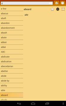 English Tosk Albanian Dict apk screenshot