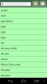 English Crimean Turkish Dict apk screenshot