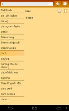 English Scottish Gaelic Dict apk screenshot