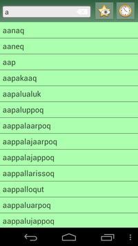 English Kalaallisut Dictionary apk screenshot