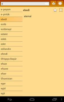 English Kurdish Dictionary apk screenshot