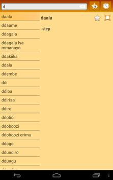 English Ganda Dictionary apk screenshot