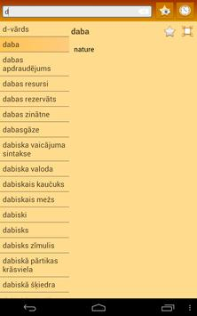 English Latvian dictionary apk screenshot