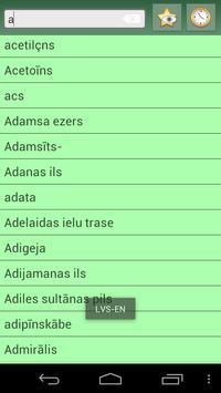 English Standard Latvian Dict apk screenshot