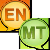 English Maltese dictionary icon