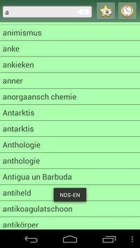 English Low German Dictionary apk screenshot