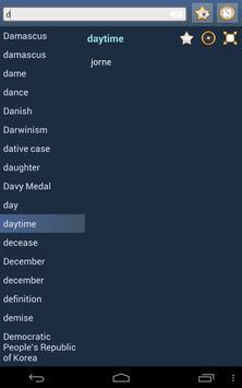 English Novial Dictionary apk screenshot