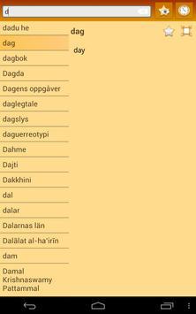 English Norwegian Nynorsk apk screenshot