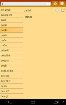 English Papiamento Dictionary apk screenshot