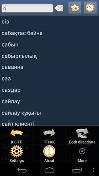 Kazakh Turkish Dictionary poster