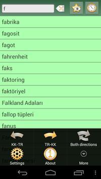 Kazakh Turkish Dictionary apk screenshot