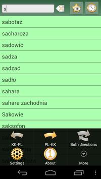Kazakh Polish Dictionary apk screenshot