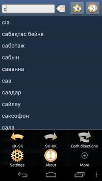 Kazakh Slovak Dictionary poster