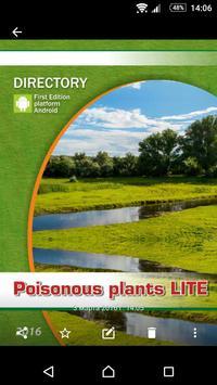 Poisonous plants LITE apk screenshot