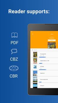 Comics Reader: CBR, CBZ, PDF apk screenshot