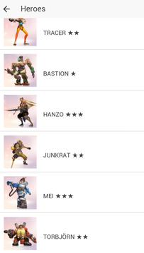 Overwatch: Heroes & Skins apk screenshot
