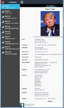 Donald Trump Biography apk screenshot