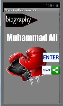 Muhammad Ali Biography poster
