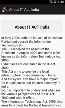 IT Act India apk screenshot