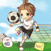 Play football icon